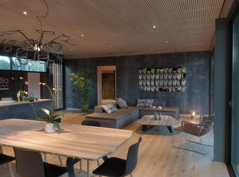 pop up house le concept innovant de maison passive technopole de l 39 environnement arbois. Black Bedroom Furniture Sets. Home Design Ideas