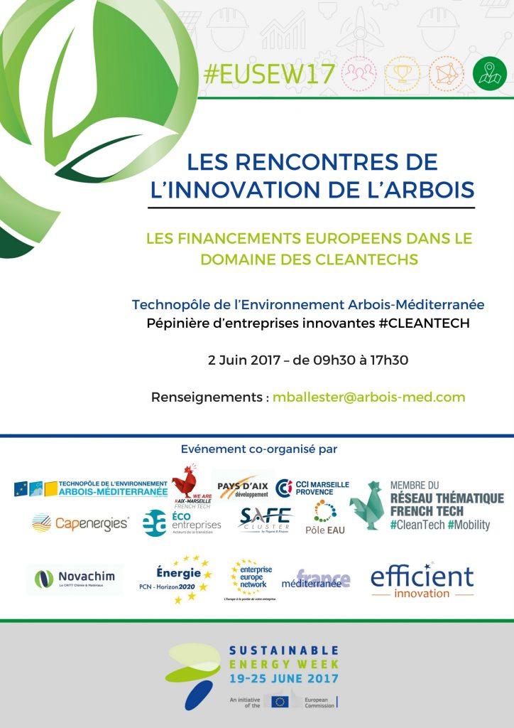 Les rencontres de l'innovation de l'arbois le 02/06/2017 à 09:30
